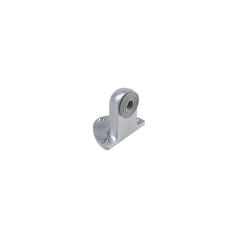 "Satin Chrome 2-1//4/"" Convex Wall Stop"