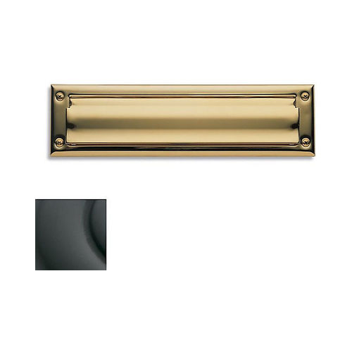 Baldwin 0014102 Letter Box Plate Oil Rubbed Bronze Finish
