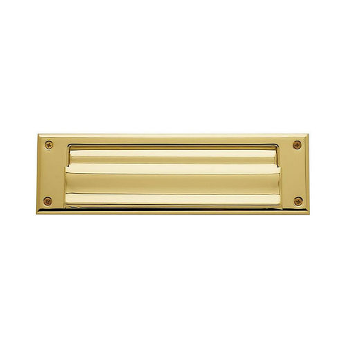 Baldwin 0017003 Letter Box Plate Lifetime Brass Finish