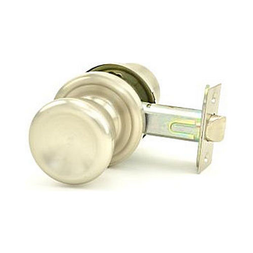 Weslock 00411ONONSL20 Sonic Privacy Lock with Adjustable Latch and Full Lip Strike Satin Nickel Finish