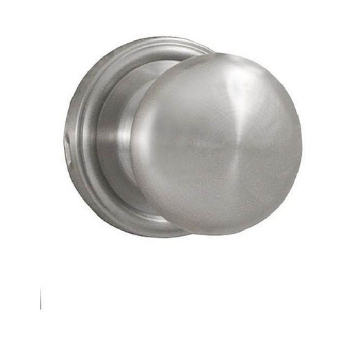 Weslock 00610IDIDSL20 Impresa Privacy Lock with Adjustable Latch and Full Lip Strike Satin Chrome Finish