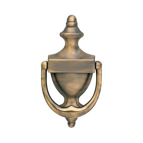 Baldwin 0102050 Door Knocker Antique Brass Finish