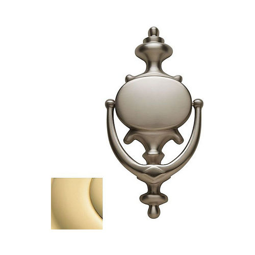 Baldwin 0116030 Imperial Door Knocker Bright Brass Finish