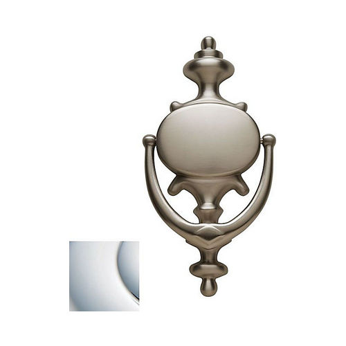 Baldwin 0116260 Imperial Door Knocker Bright Chrome Finish