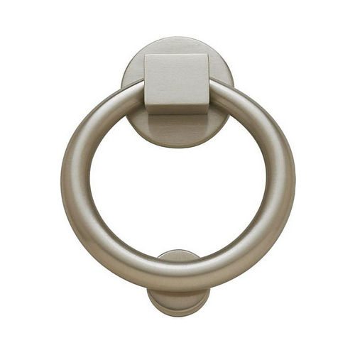 Baldwin 0195150 Ring Door Knocker Satin Nickel Finish