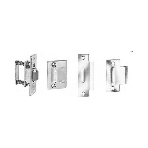 Baldwin 0432150 Roller Latch With T Strike Satin Nickel Finish