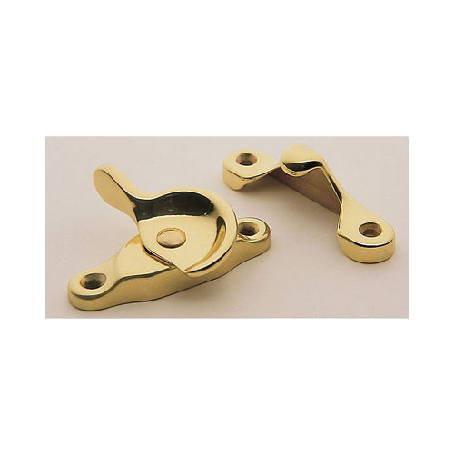 Baldwin 0452003 Sash Lock Lifetime Brass Finish