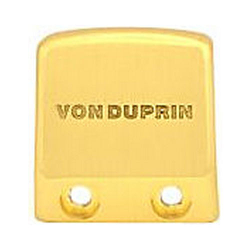 Von Duprin 0500144 Impact Resistant End Cap Kit for 98 or 99 Series, Satin Brass Finish
