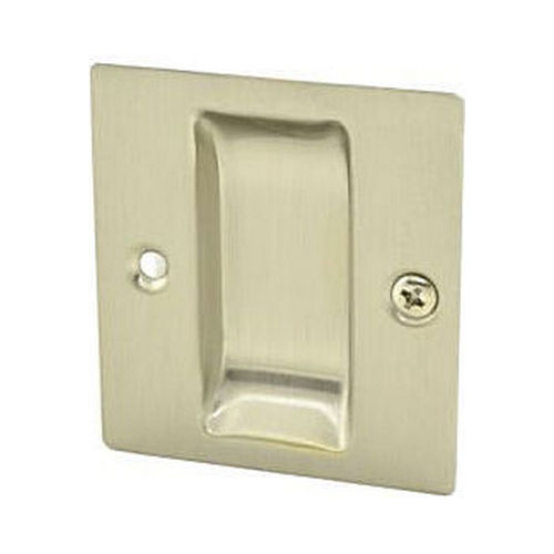 Trimco 1064FCP619 Flush Cup Pocket Door Pull Satin Nickel Finish