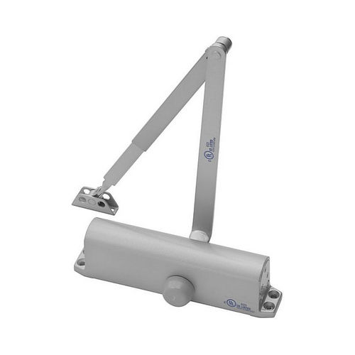 Yale Commercial 1101BF689 Multi Size Non Hold Open Door Closer Aluminum Finish