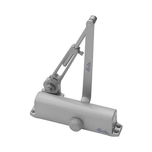 Yale Commercial 1111BF689 Multi Size Hold Open Door Closer Aluminum Finish