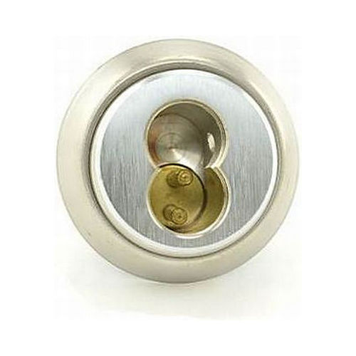 Best 1E74C191RP3626 7 Pin Standard Mortise Cylinder Best Latch Cam with Ring Satin Chrome Finish