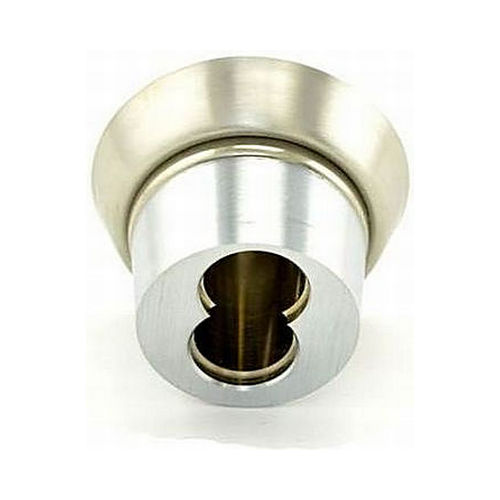 Best 1E76C4RP3626 7 Pin Tapered Mortise Cylinder Standard Cam with Ring Satin Chrome Finish