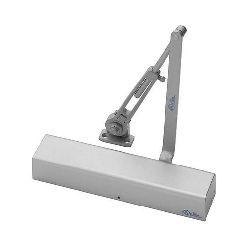Yale Commercial 2711689 Tri Mount Hold Open Door Closer Aluminum Finish