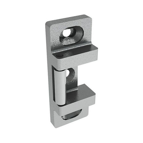 Hager 491032D Strike for 4700 Rim Exit Devices # 020040 Satin Stainless Steel Finish