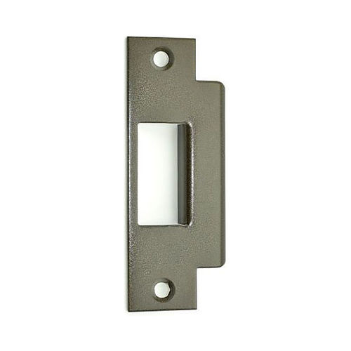 Von Duprin 57519 Mortise Lock Strike for 5575, 8875, 9875, 9975, Painted Flat Black Finish