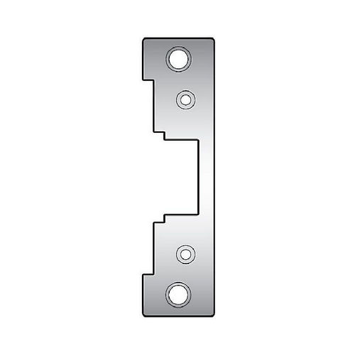 Assa Abloy Electronic Security Hardware - Hes 791630 Faceplate for 7000 Strike Satin Stainless Steel Finish