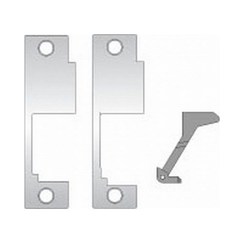 Assa Abloy Electronic Security Hardware - Hes 851M630 Faceplate for 8500 Sargent Satin Stainless Steel Finish