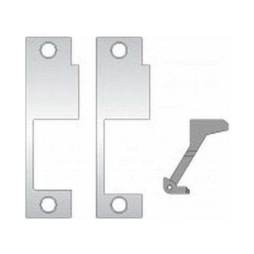 Assa Abloy Electronic Security Hardware - Hes 852M630 Faceplate for 8500 Yale, Accurate, Falcon, Simplex Satin Stainless Steel Finish