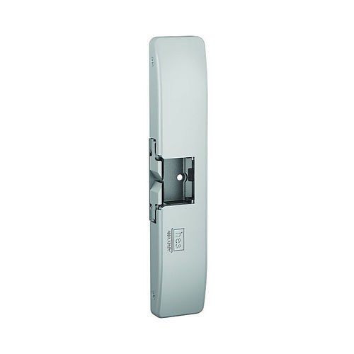 Assa Abloy Electronic Security Hardware - Hes 9600LBSM630 12VDC / 24VDC Electric Strike Body with Latchbolt Strike Monitor Satin Stainless Steel Finish