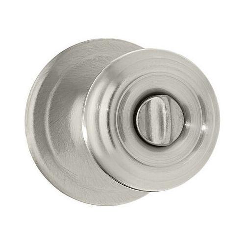 Kwikset 979CV-3S Cove Interior Double Cylinder Montara Handleset Trim Smart Key Bright Brass Finish