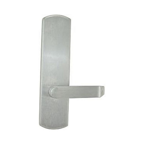 Von Duprin 996LMBE26DRH Right Hand Reverse 06 Lever Blank Escutcheon Trim for 98 / 99 Mortise, Satin Chrome Finish