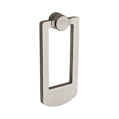 Baldwin 9BR7002002 Contemporary Door Knocker Satin Nickel Finish