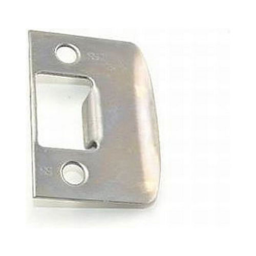 Schlage Residential 10026619 Square Corner Full Lip Strike Satin Nickel Finish