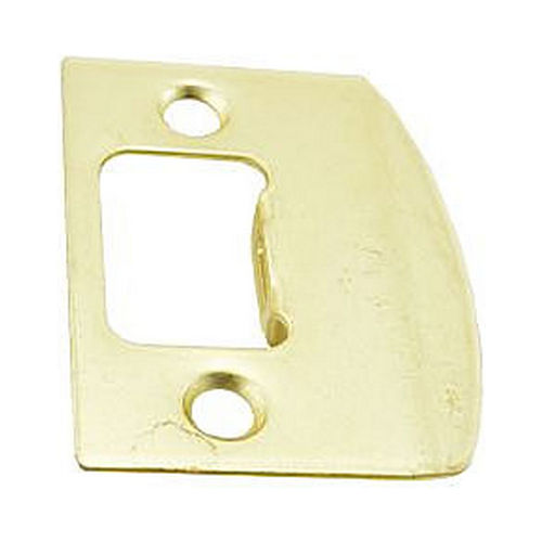 Schlage J Dexter Series 10100605 Square Full Lip Strike Bright Brass Finish