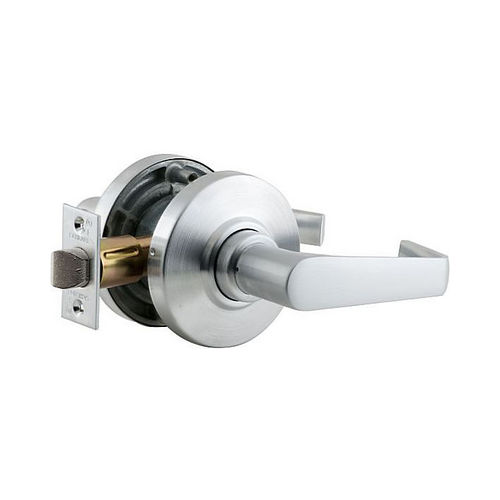Schlage Commercial AL10SAT626 AL Series Passage Saturn with 11116 Latch 10025 Strike Satin Chrome Finish