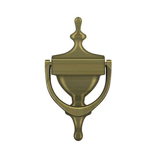 Deltana DK7356U5 Door Knocker, Victorian, Antique Brass Finish