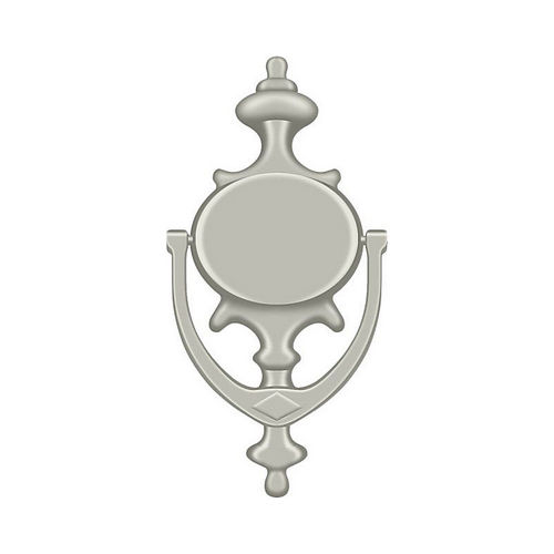 Deltana DK854U15 Door Knocker, Imperial, Brushed Nickel