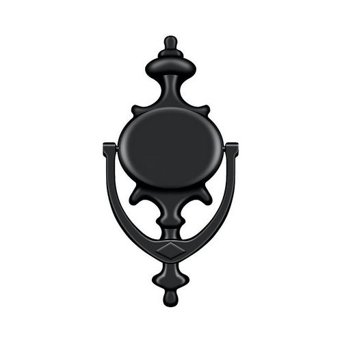 Deltana DK854U19 Door Knocker, Imperial, Black Finish