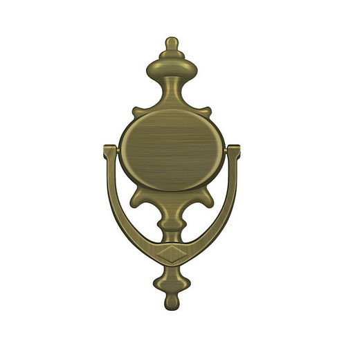 Deltana DK854U5 Door Knocker, Imperial, Antique Brass Finish