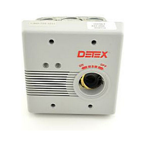 Detex EAX2500F Flush Mount AC / DC Powered Alarm
