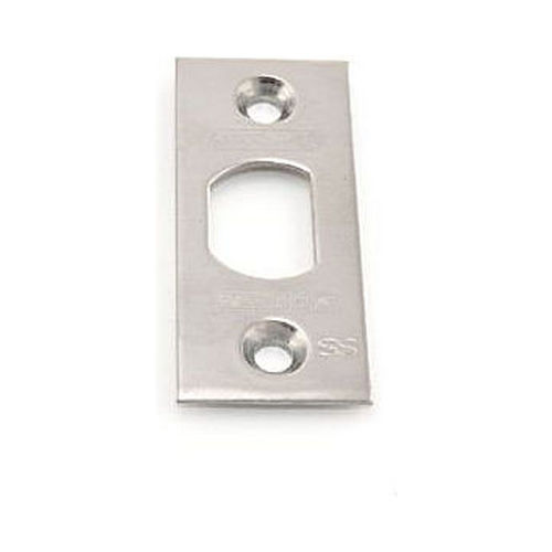 Schlage Residential F206476518 Square Corner Spring Latch Face Plate Satin Nickel Finish