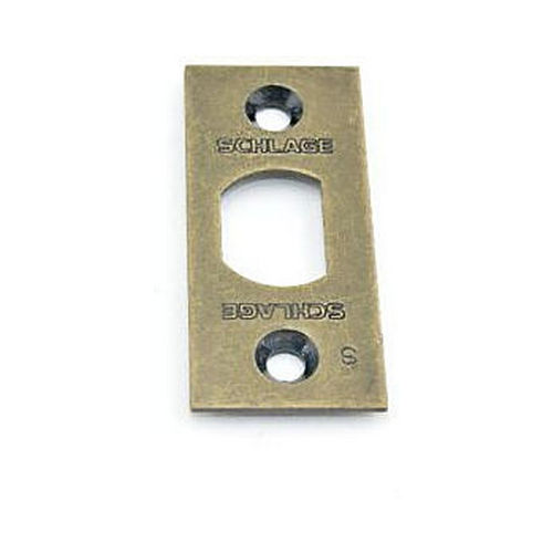 Schlage F206476520 Square Corner Spring Latch Face Plate Satin Brass Finish