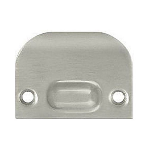 Deltana FLSP335U15 Full Lip Strike Plate For Ball Catch and Roller Catch, Brushed Nickel