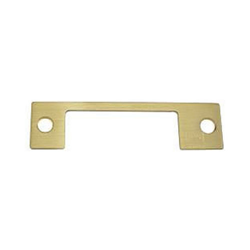 Assa Abloy Electronic Security Hardware - Hes HM606 HM Faceplate for 1006 Strike Satin Brass Finish