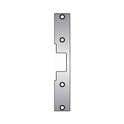 Assa Abloy Electronic Security Hardware - Hes J2630 J2 Faceplate for 1006 Strike Satin Stainless Steel Finish