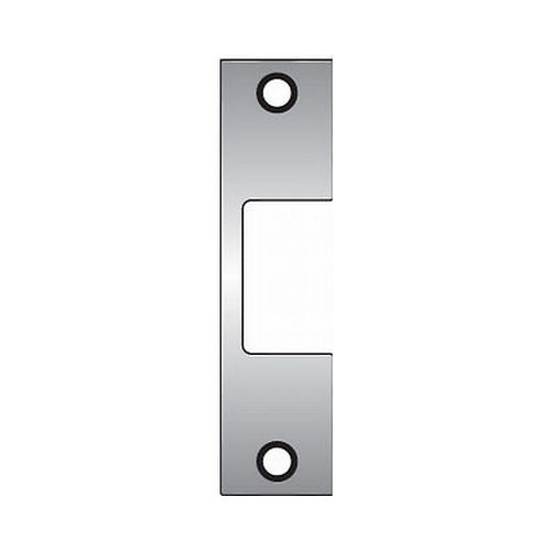 Assa Abloy Electronic Security Hardware - Hes J630 J Faceplate for 1006 Strike Satin Stainless Steel Finish