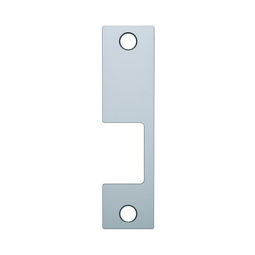 Assa Abloy Electronic Security Hardware - Hes KM605 KM Faceplate for 1006 Strike Bright Brass Finish