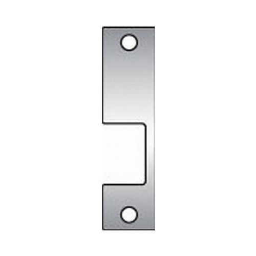 Assa Abloy Electronic Security Hardware - Hes KM630 KM Faceplate for 1006 Strike Satin Stainless Steel Finish