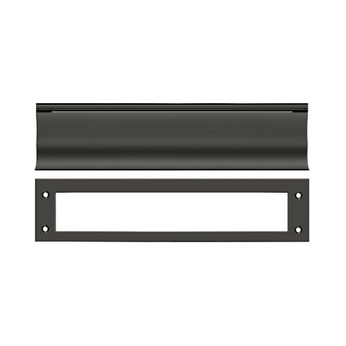 Deltana MS0030U10B Mail Slot, HD, Oil Rubbed Bronze Finish
