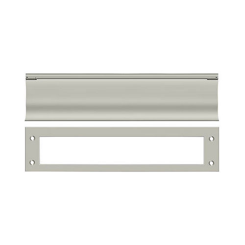 Deltana MS0030U15 Mail Slot, HD, Satin Nickel Finish