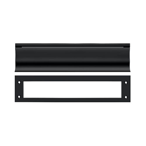 Deltana MS0030U19 Mail Slot, HD, Black Finish
