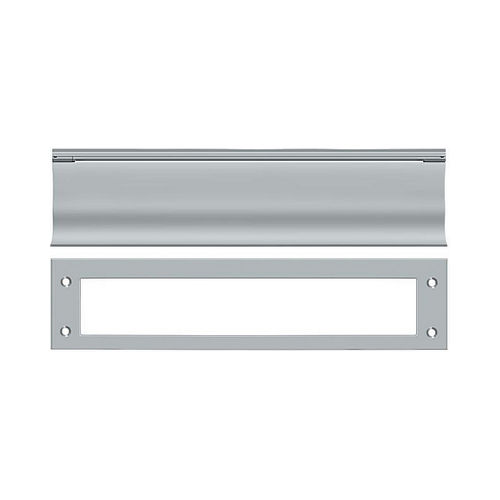 Deltana MS0030U26D Mail Slot, HD, Satin Chrome Finish
