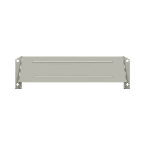 Deltana MSH158U15 Letter Box Hood, Satin Nickel Finish