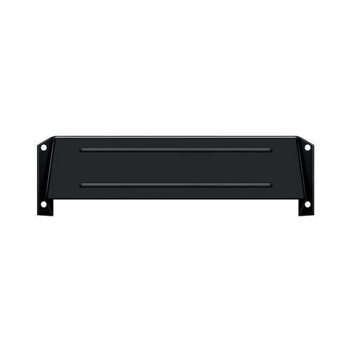 Deltana MSH158U19 Letter Box Hood, Black Finish