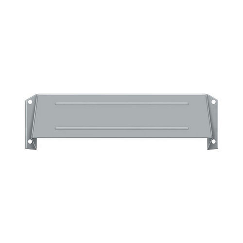 Deltana MSH158U26D Letter Box Hood, Satin Chrome Finish